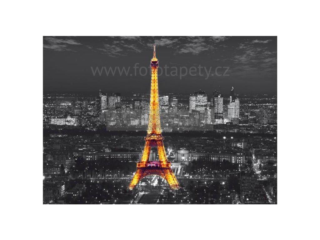Jednodílná vliesová fototapeta Eiffelova věž FTN m 2643, rozměr 160x110cm