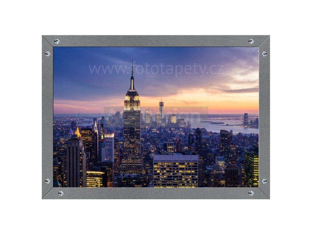 Jednodílná vliesová fototapeta Ranní New York FTN m 2644, rozměr 160x110cm
