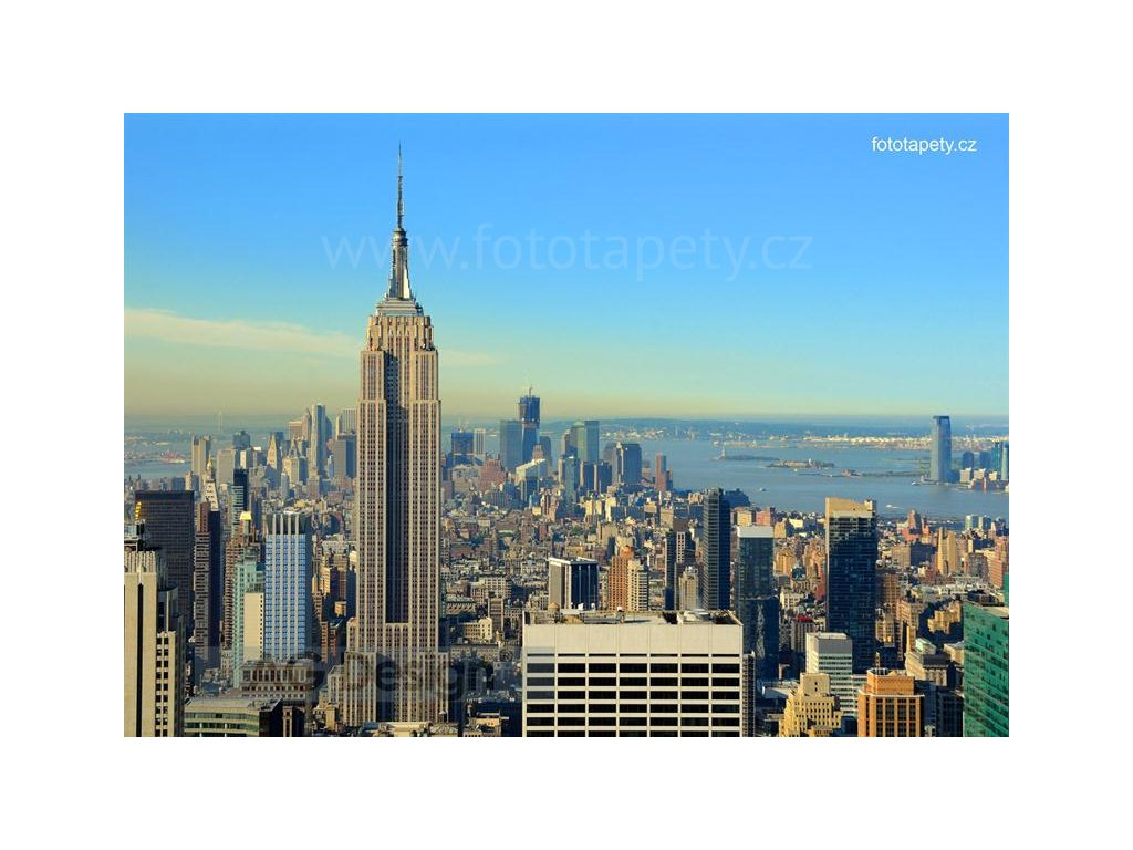Čtyřdílná obrazová fototapeta New York FTS 1309, rozměr 360 x 254cm