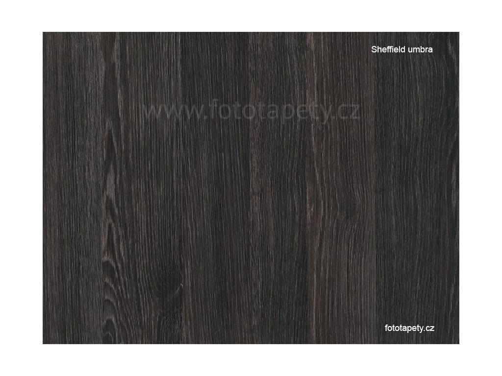 Samolepící tapeta d-c-fix imitace dřeva, vzor Dub Sheffield, umbra