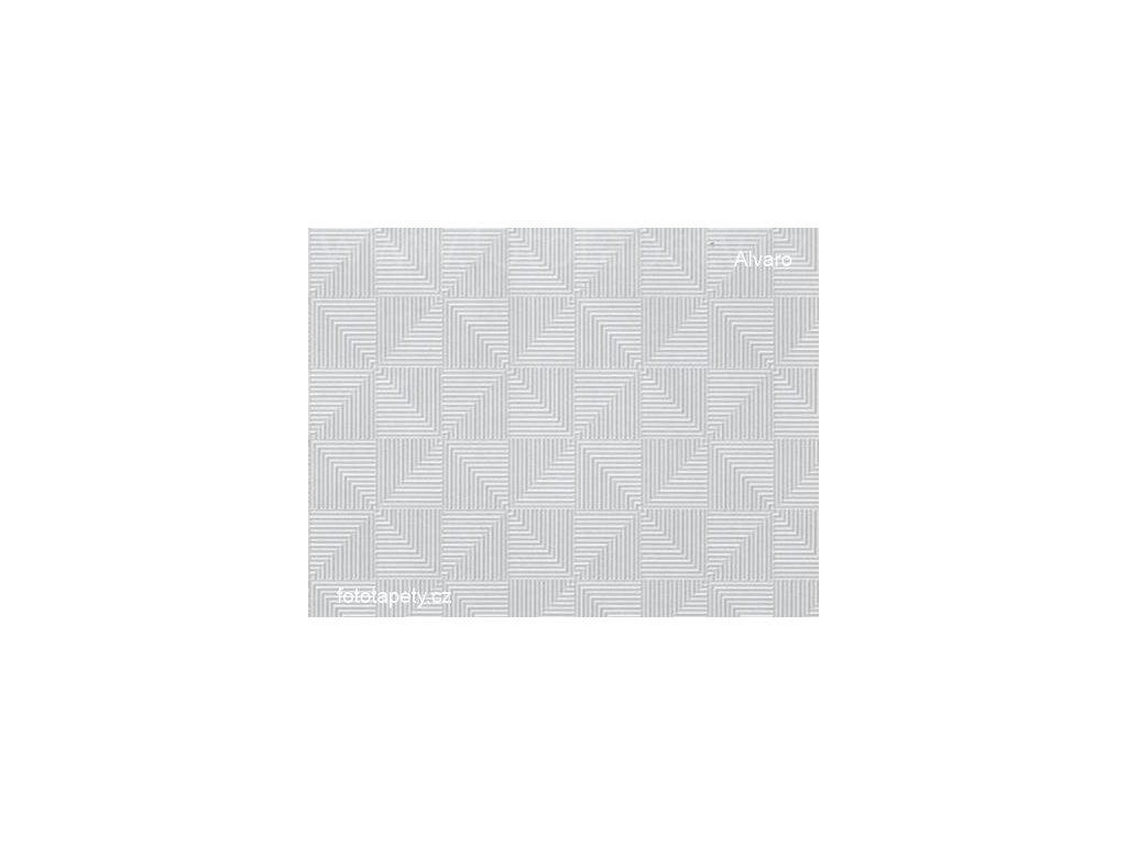Transparentní samolepící folie šíře 45cm, vzor Alvaro, DOPRODEJ!