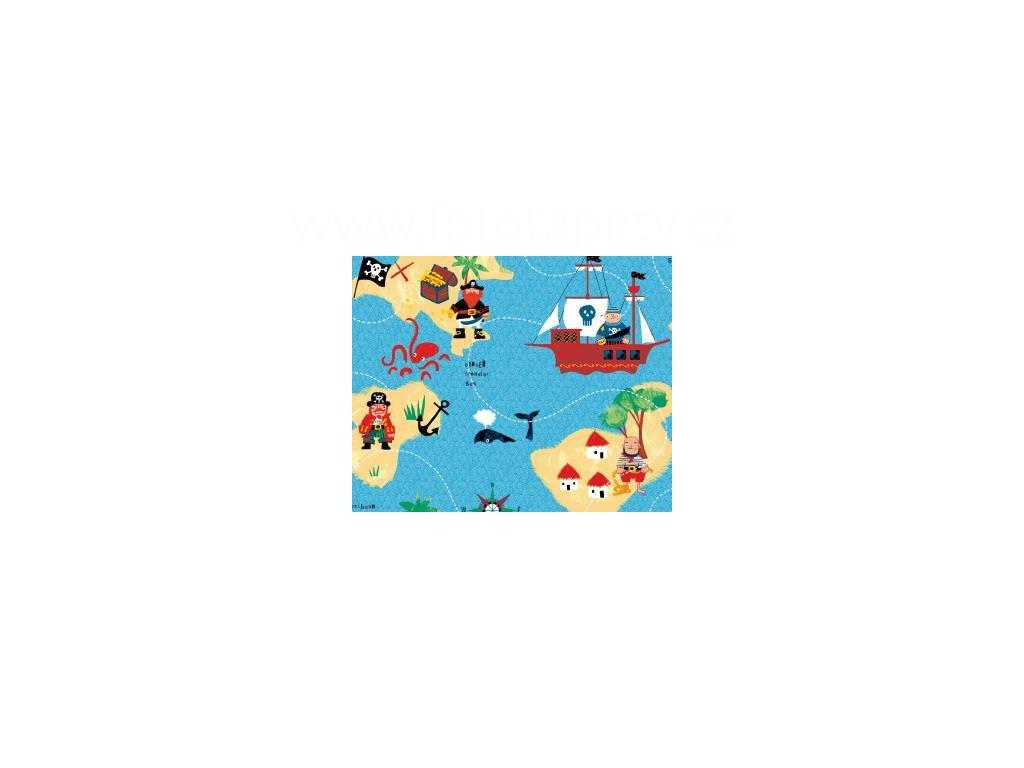Samolepící tapeta d-c-fix Decor - Piráti, 200-3233