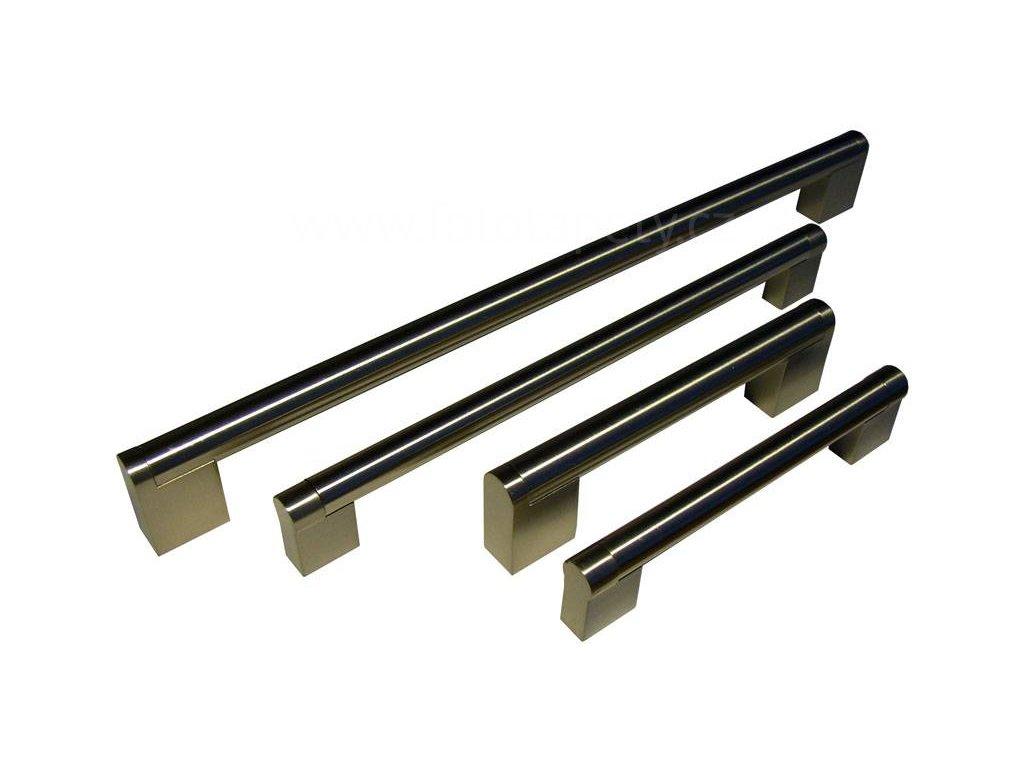 kovová úchytka ALENA II 128,160,192,224,320,432,544,608,736