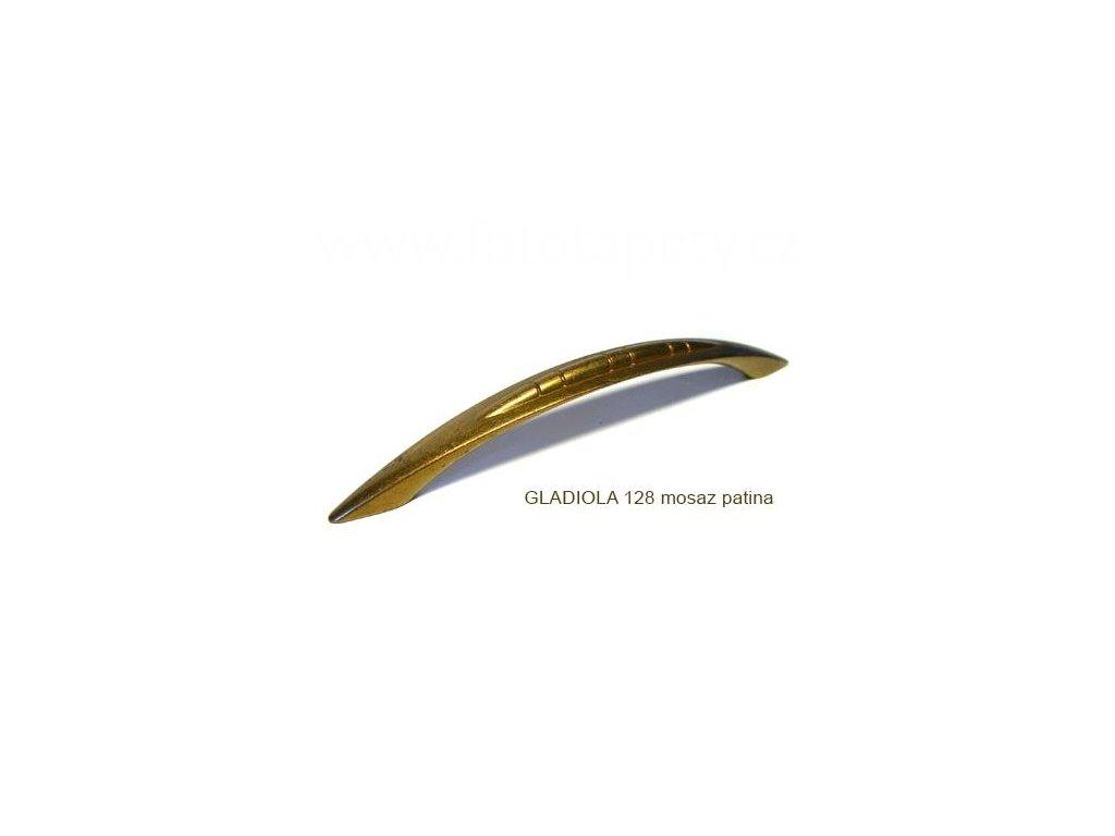 kovová úchytka GLADIOLA 96,128