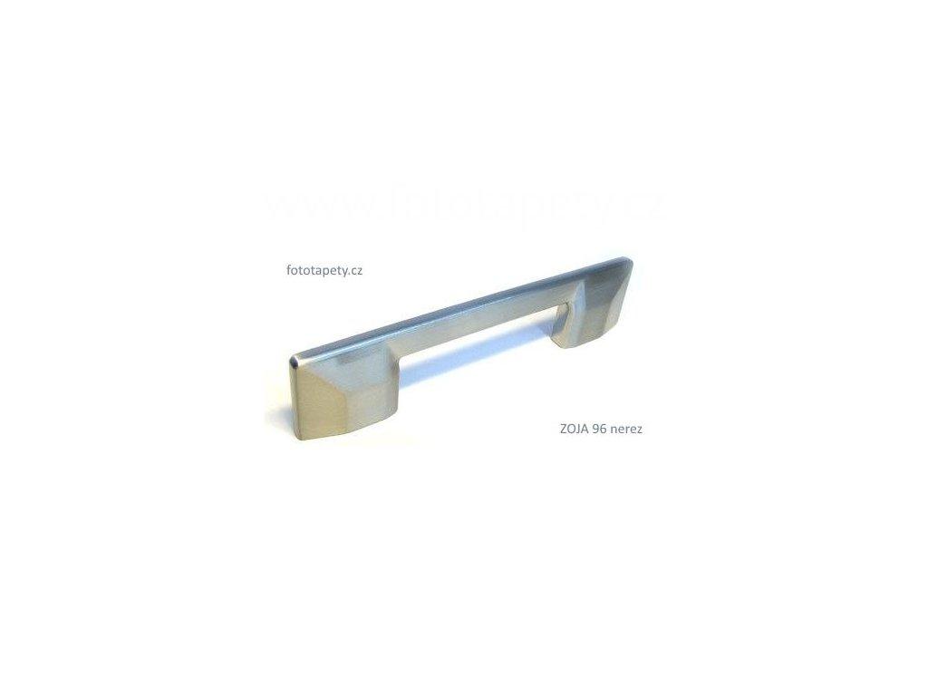 kovová nerezová úchytka ZOJA 96,160, doprodej