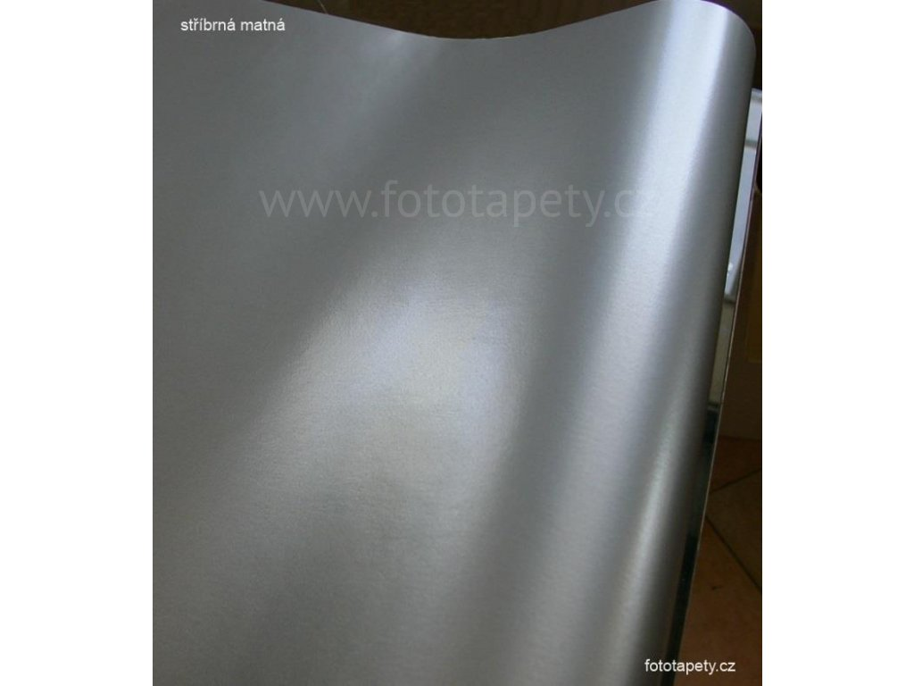 Samolepící folie d-c-fix stříbrná matná, šíře 45 cm
