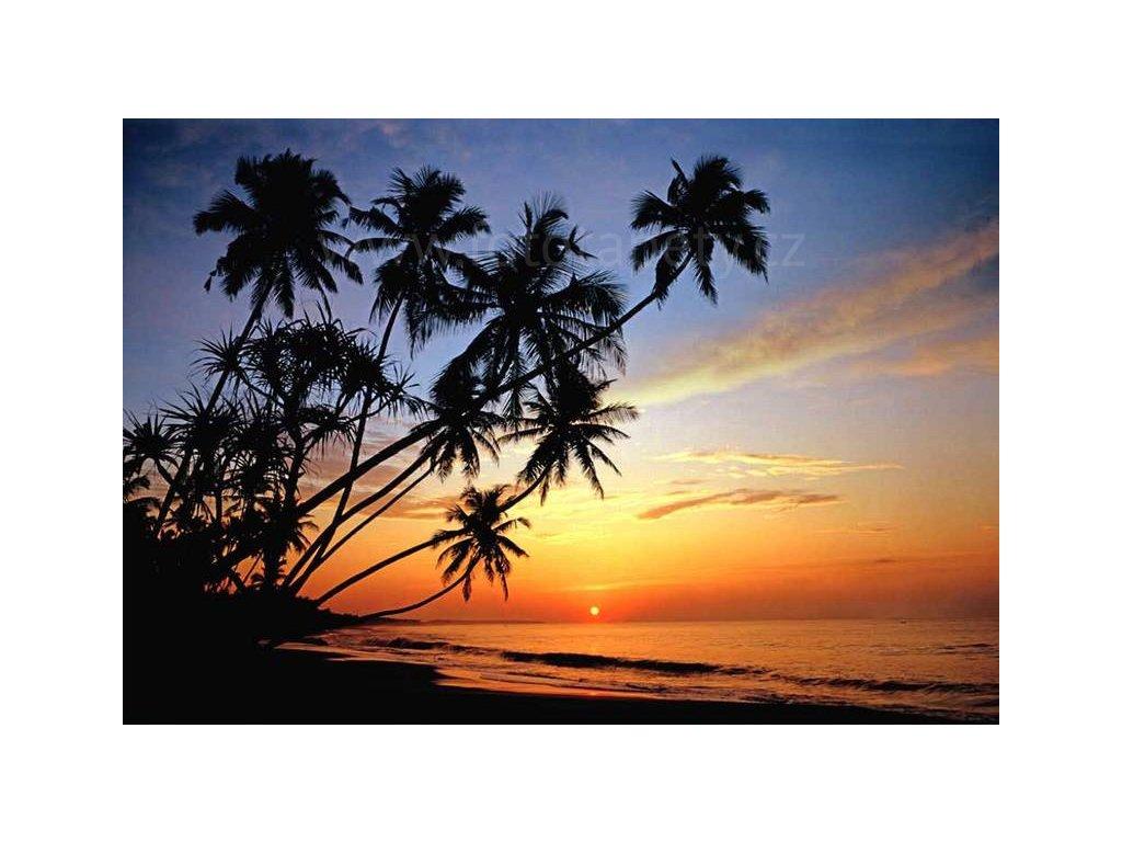 Osmidílná fototapeta Sunset, 366x254 cm, skladem poslední 2ks!!!