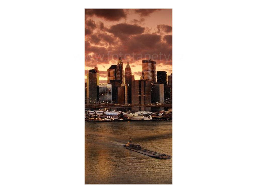 Dvoudílná vliesová fototapeta New York, rozměr 150x250cm, MS-2-0002