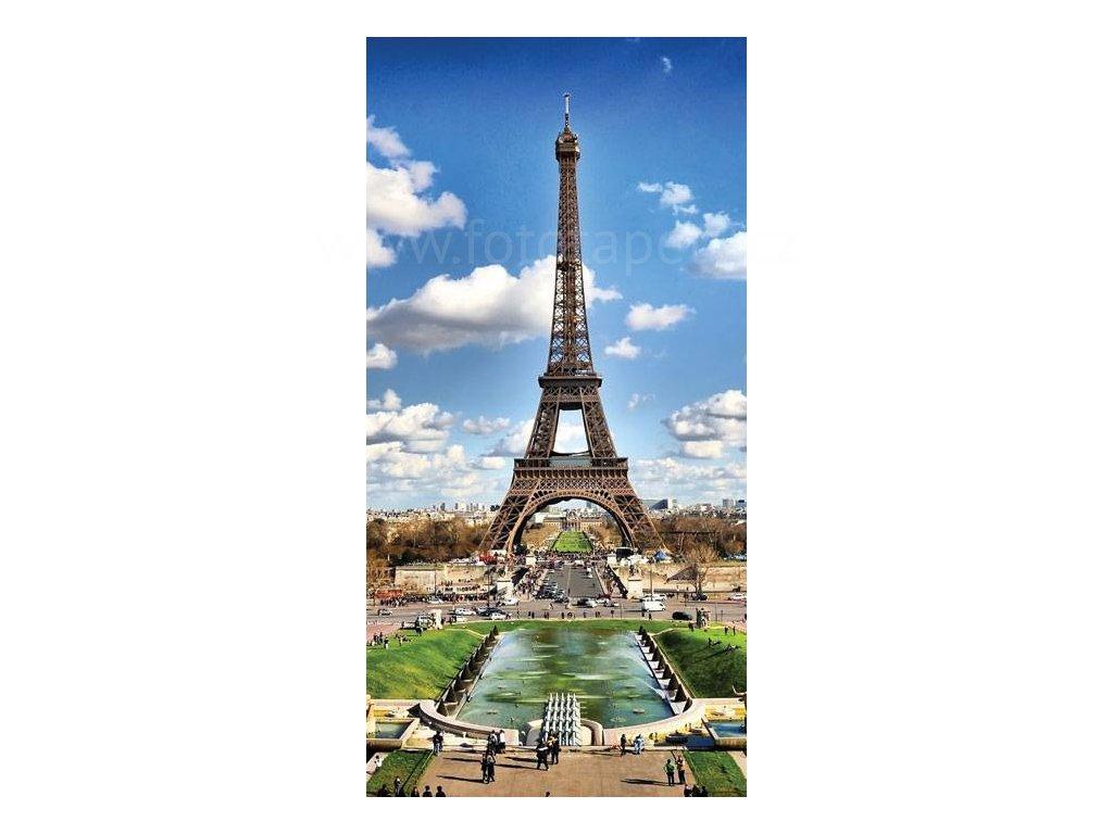 Dvoudílná vliesová fototapeta Paříž, rozměr 150x250cm, MS-2-0025