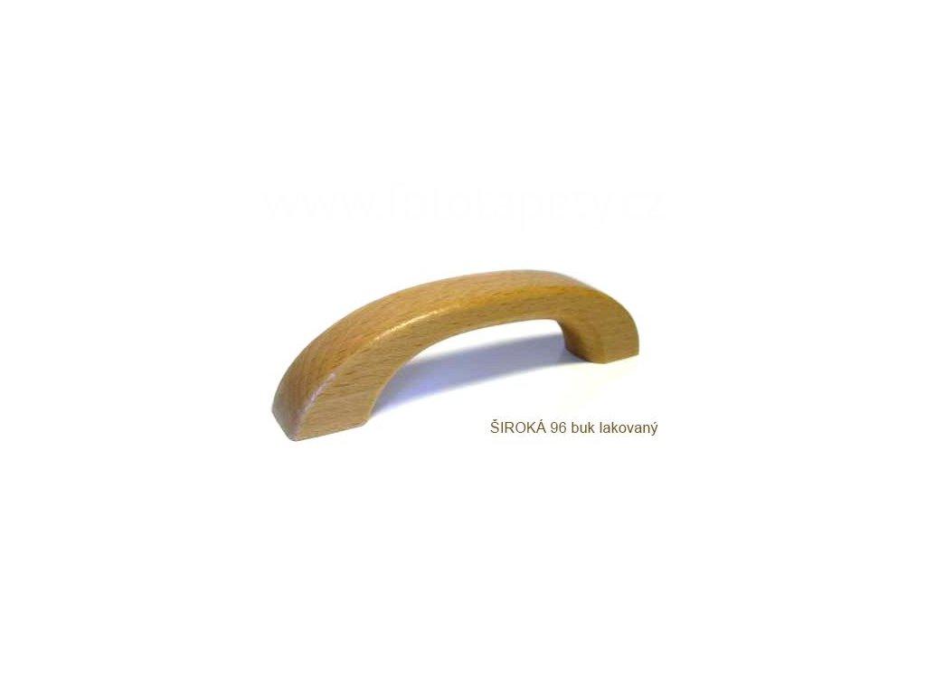 dřevěná úchytka ŠIROKÁ 96