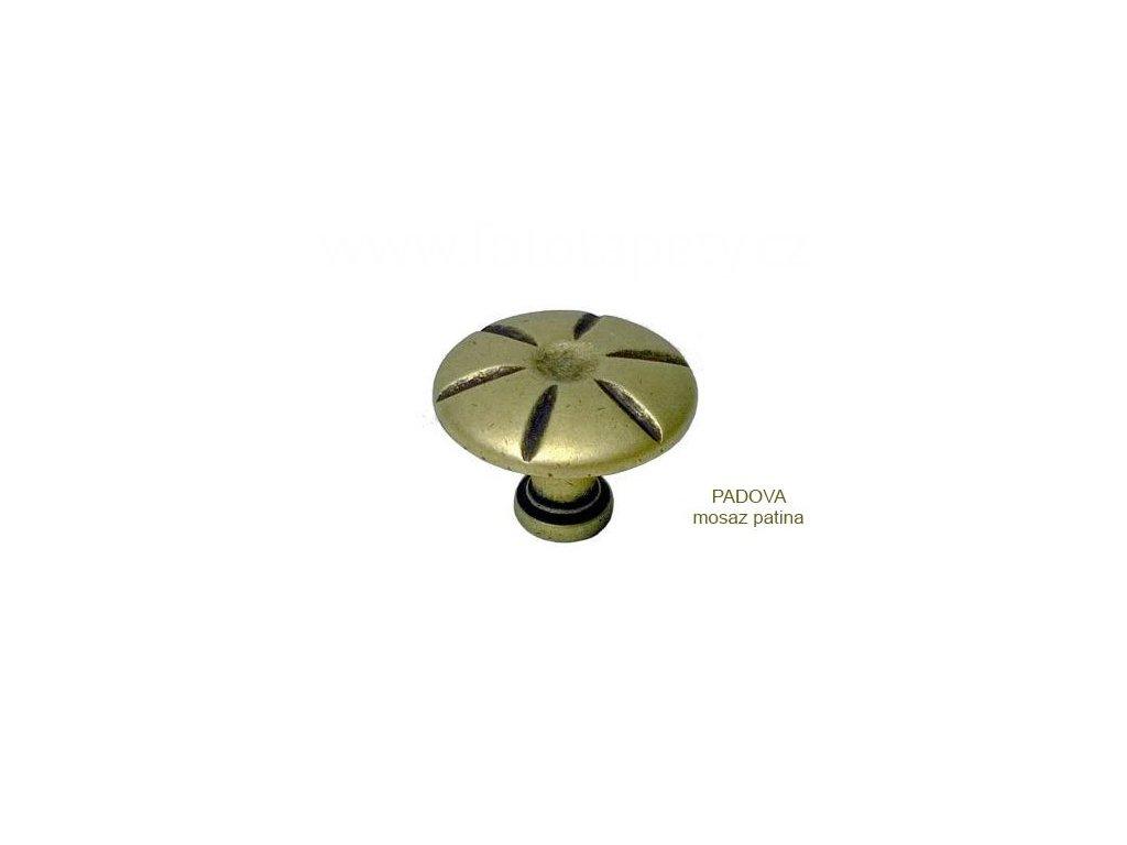 kovový knopek PADOVA 25