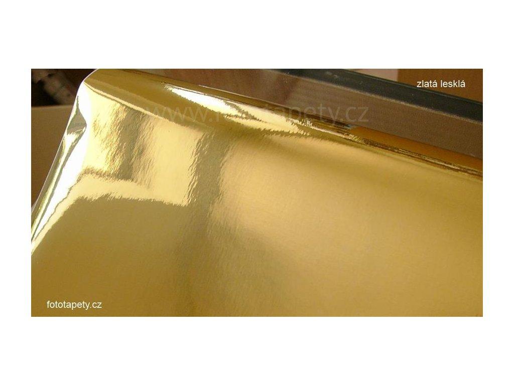 Samolepící zlatá vysoce lesklá folie d-c-fix, šíře 45 cm