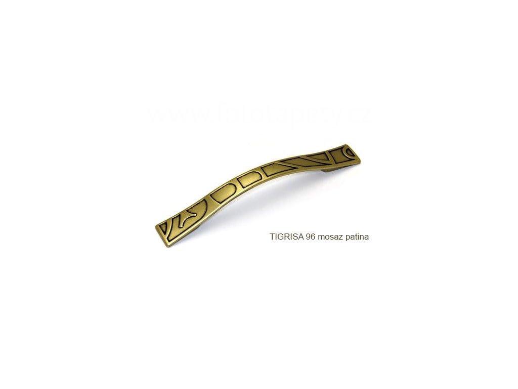 kovová úchytka TIGRISA 96