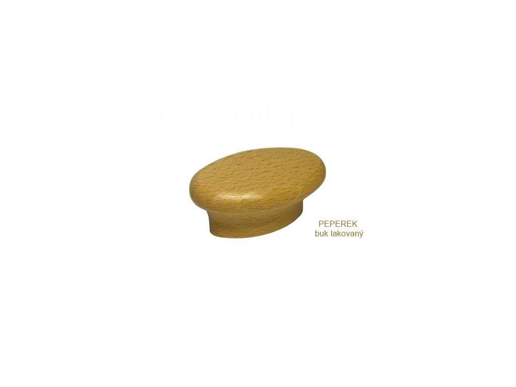 knopek dřevěný PEPEREK  32 - doprodej