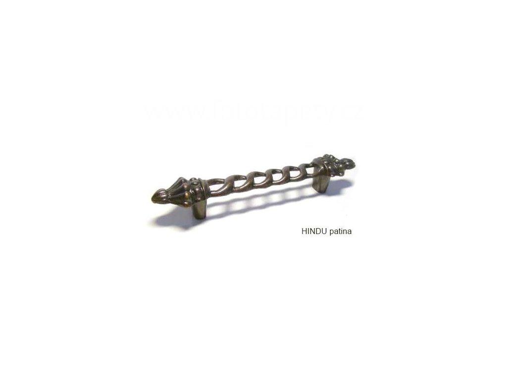 kovová úchytka HINDU 96