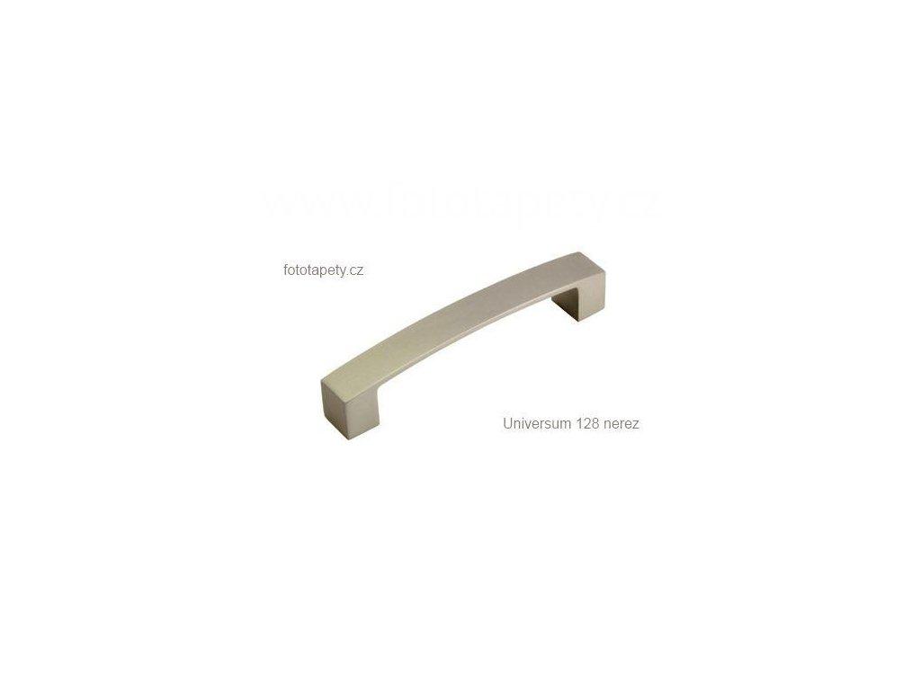 kovová úchytka UNIVERSUM 128,160,192,320,416 nerez