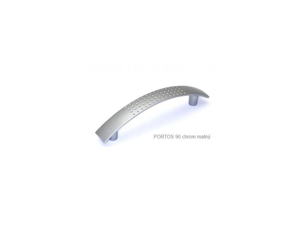 Plastová úchytka PORTOS  96,128