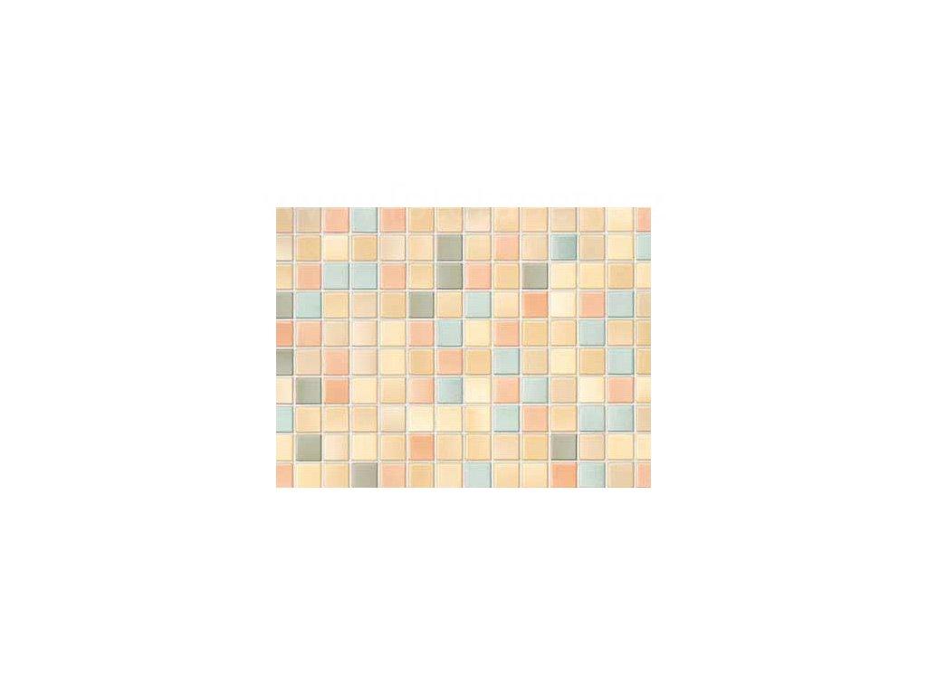Samolepící tapeta  imitace  obkladaček, mozaika světlá