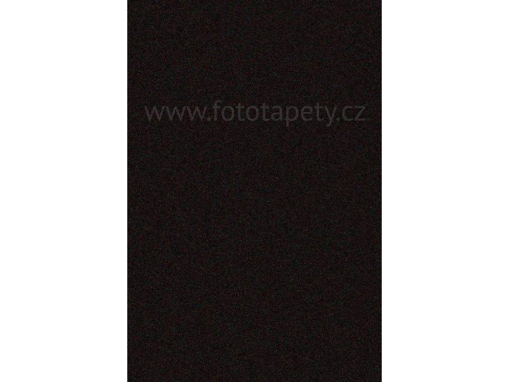 Samolepící velur, odstín černý, šíře 45, 90cm