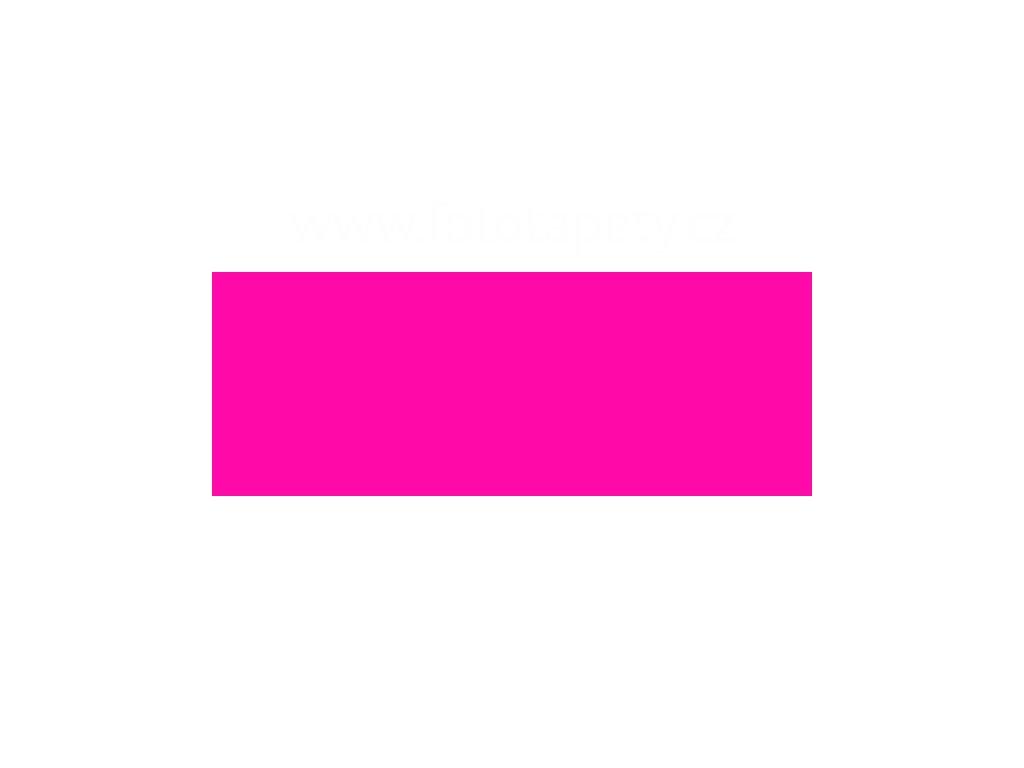 Samolepící tapeta jednobarevná fluorescenční, růžová, šířka 45cm
