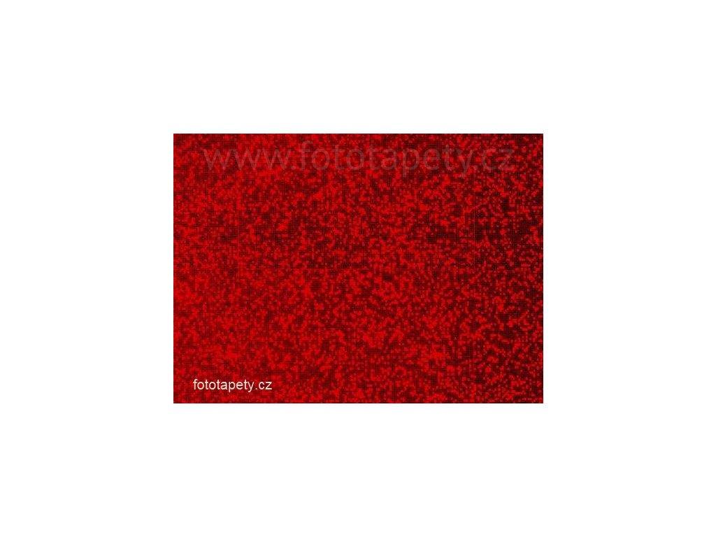 Samolepící kovově lesklá folie s výrazným světélkujícím efektem, Prisma rot,DOPRODEJ!!