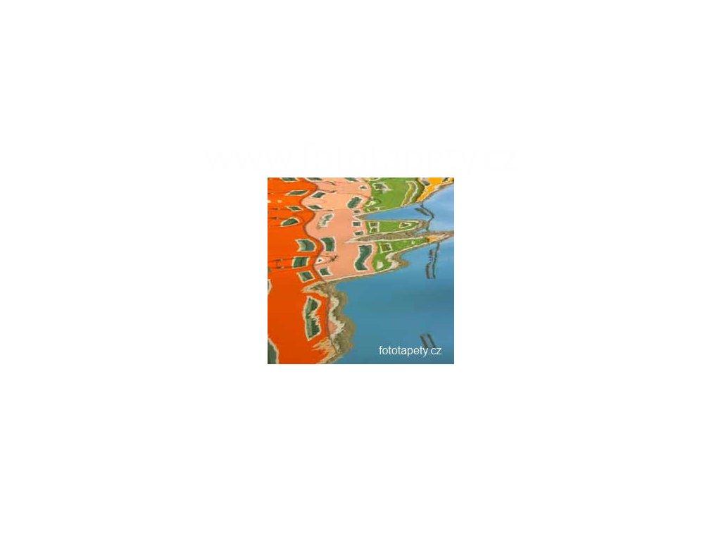 Samolepící velkoplošná nálepka  - Vodní efekt, 100x100cm