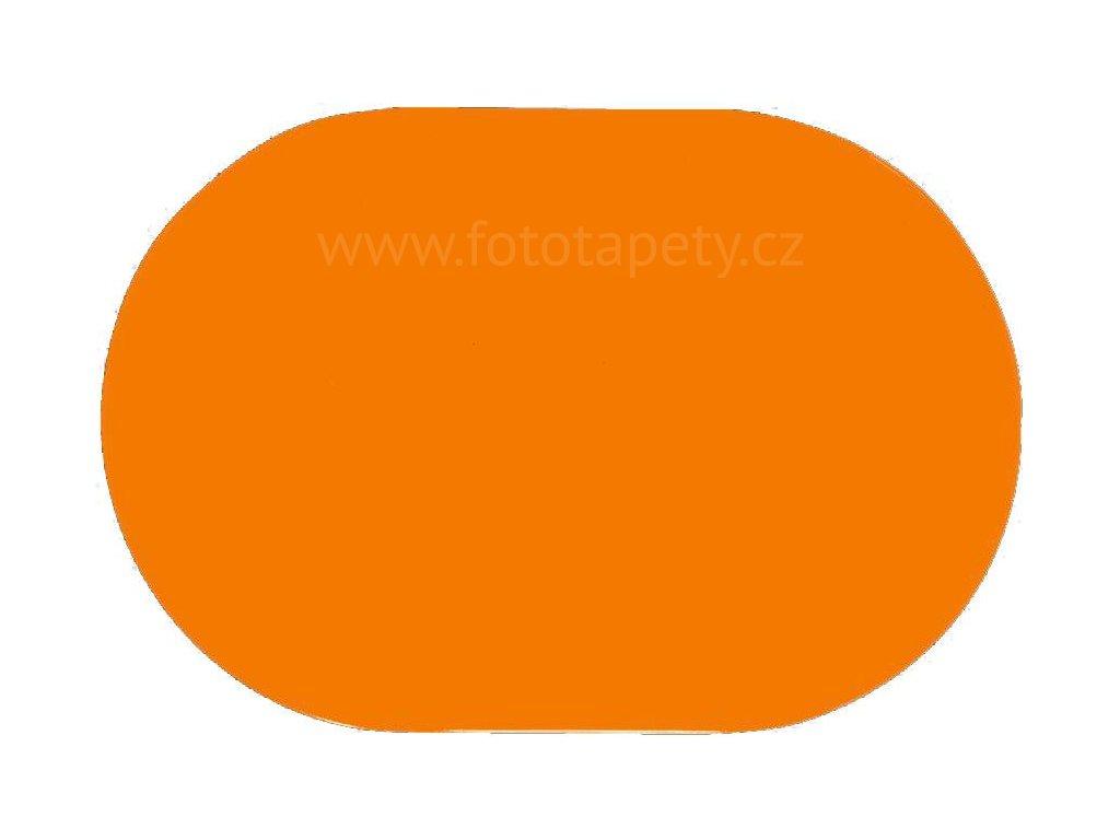 Prostírání na stůl - Oranžové, 45x30cm