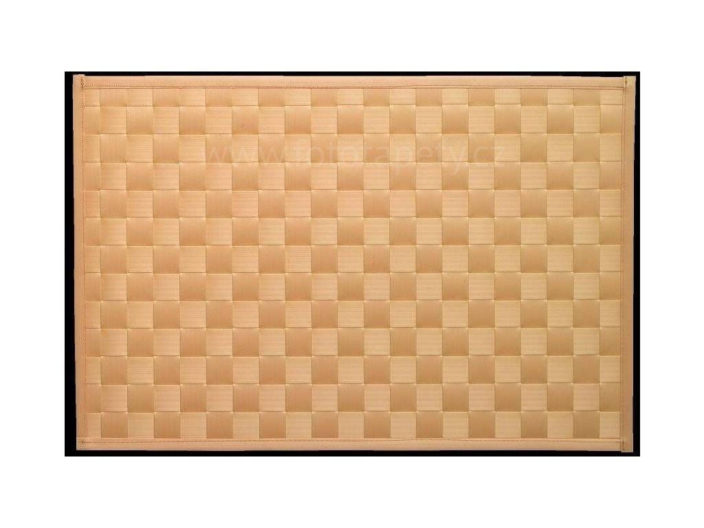 Prostírání na stůl - Lýko béžové, 43x30cm