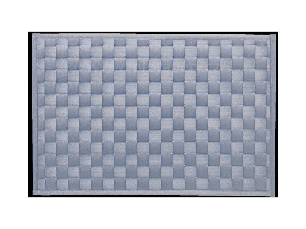 Prostírání na stůl - Lýko šedá perleť, 43x30cm
