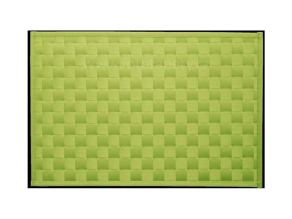 Prostírání na stůl - Lýko zelené, 43x30cm