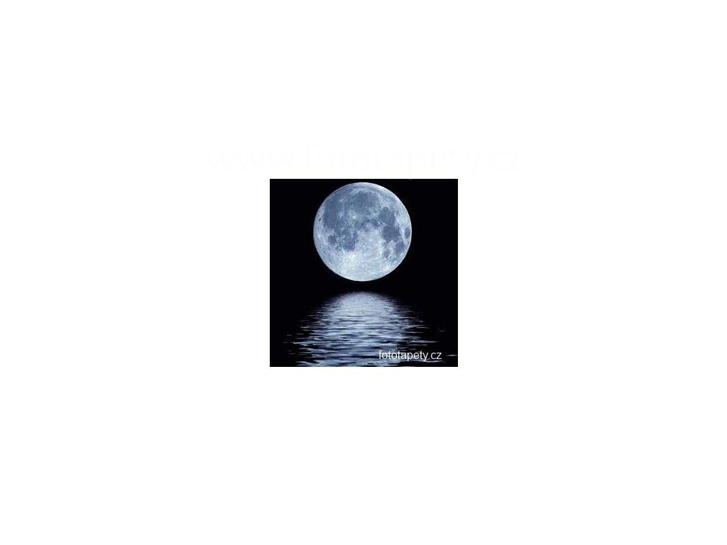 Samolepící velkoplošná nálepka - Měsíční svit, 100x100cm