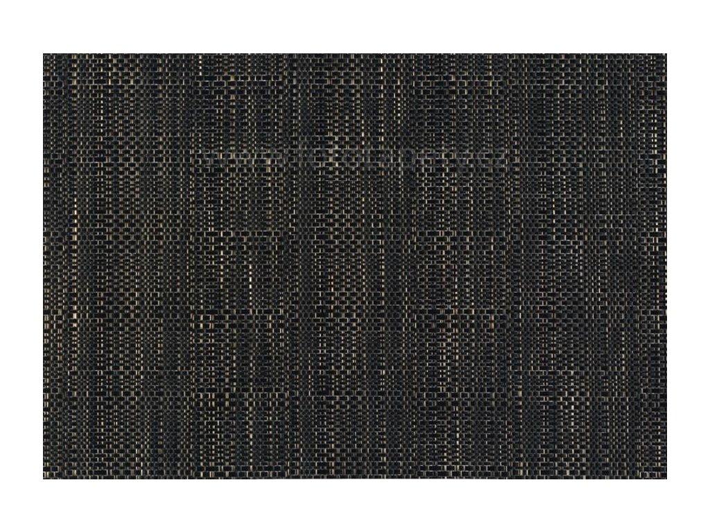 Prostírání na stůl - Struktura černá, 45x30cm, 230-5205