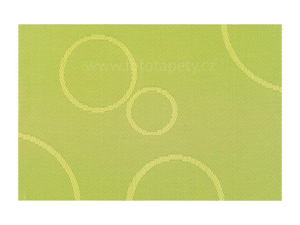 Prostírání na stůl - Zelené kruhy, 45x30cm, 230-5209