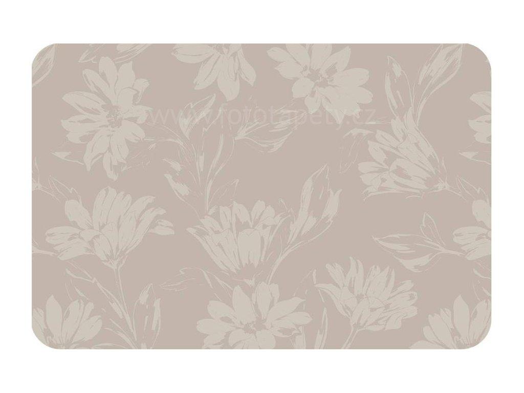 Prostírání na stůl - Béžové květy, 44x29cm