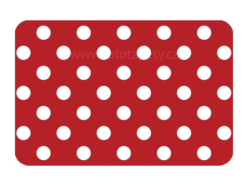 Prostírání na stůl - Červené puntíky, 44x29cm