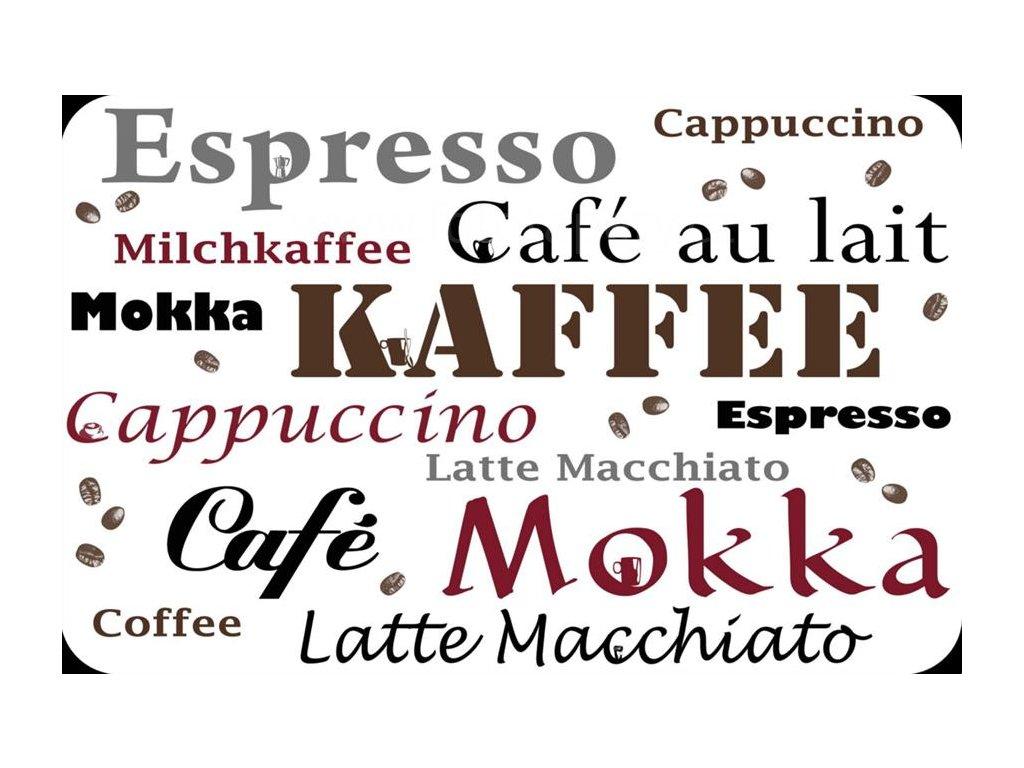 Prostírání na stůl - Espresso, Café, 44x29cm