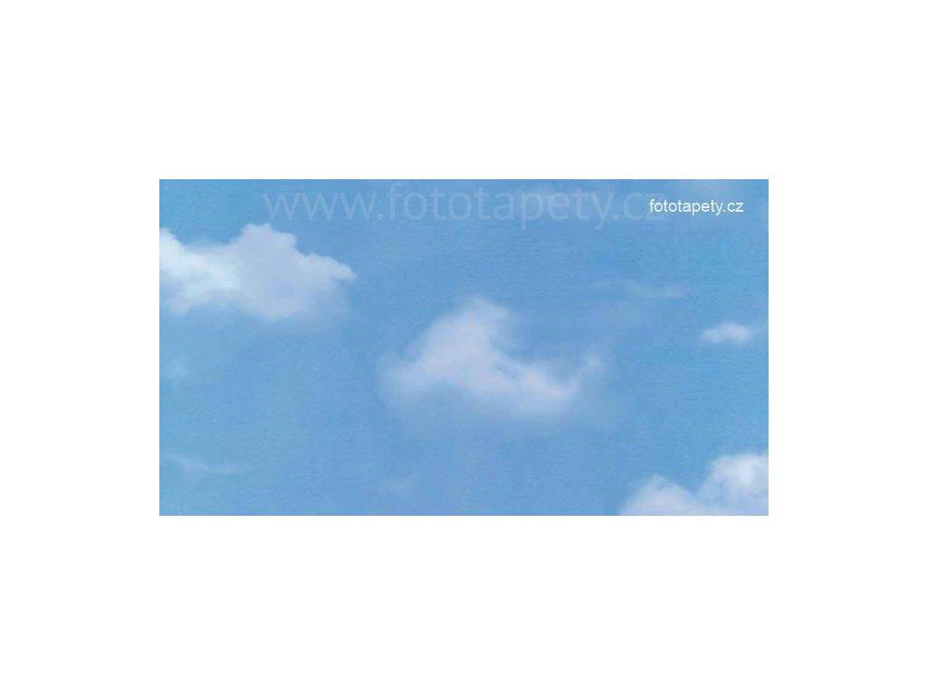 Barevná transparentní samolepící folie, Oblaka