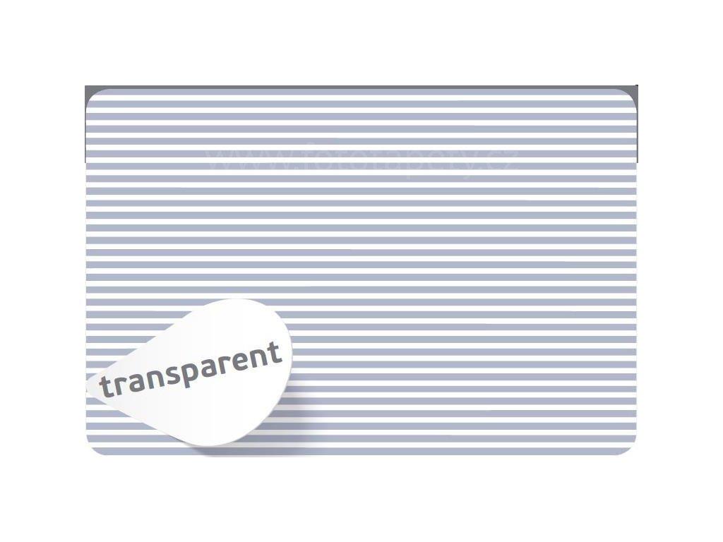Prostírání na stůl - Pruhy bílé, 45x30cm