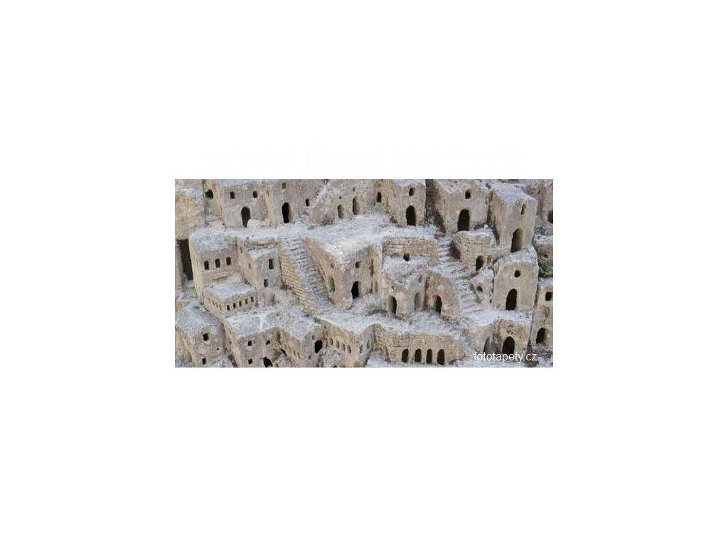 Samolepící velkoplošná nálepka - Matera, 180x100cm