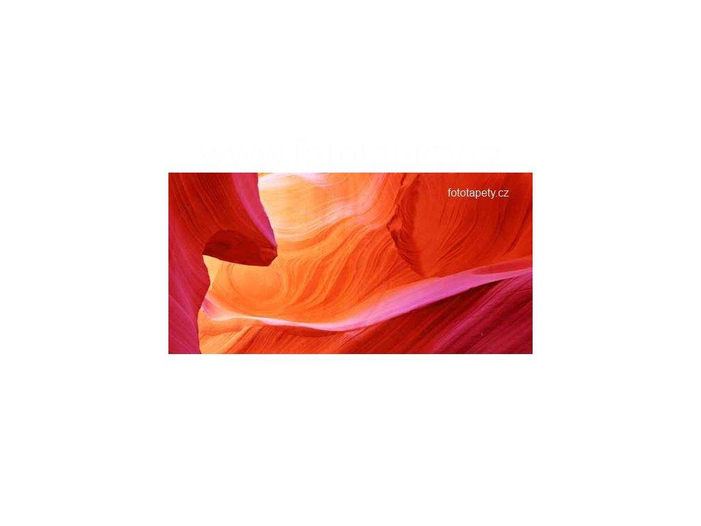 Samolepící velkoplošná nálepka  - Red Canyon, 180x100cm