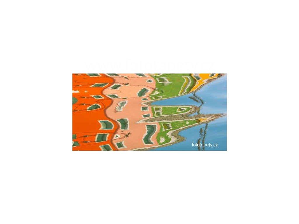 Samolepící velkoplošná nálepka - Vodní efekt, 180x100cm