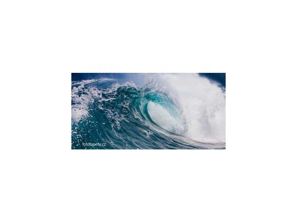 Samolepící velkoplošná nálepka - Vlny moře, 180x100cm