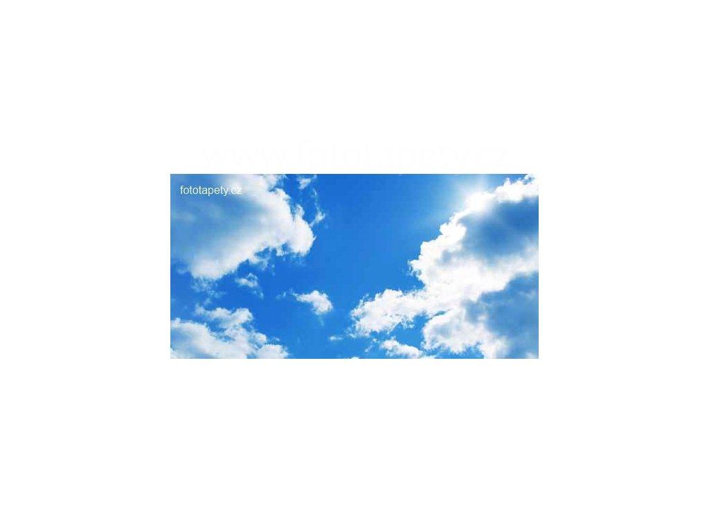 Samolepící velkoplošná nálepka - Obloha, 180x100cm