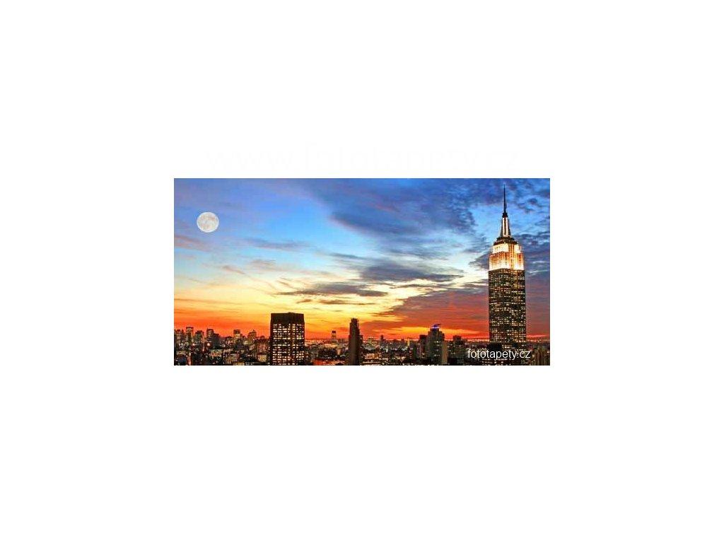 Samolepící velkoplošná nálepka - Metropole, 100x180cm