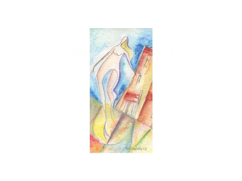 Samolepící velkoplošná nálepka - Romina, 100x180cm