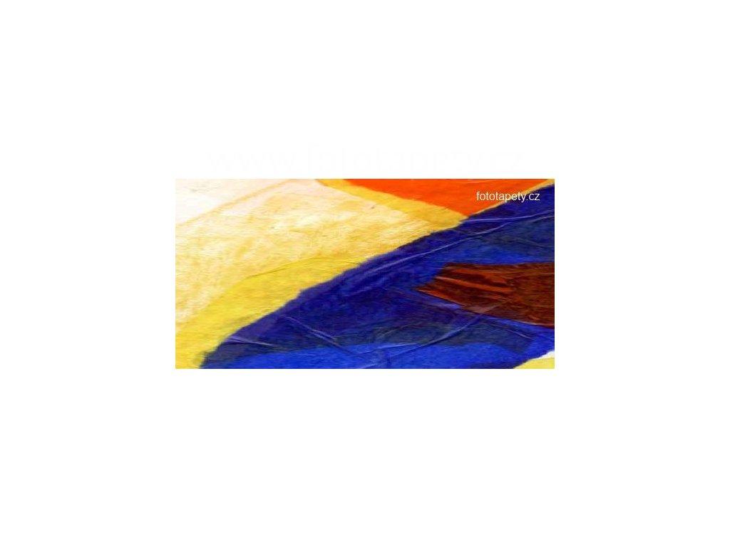 Samolepící velkoplošná nálepka - Geometrické tvary, 180x100cm