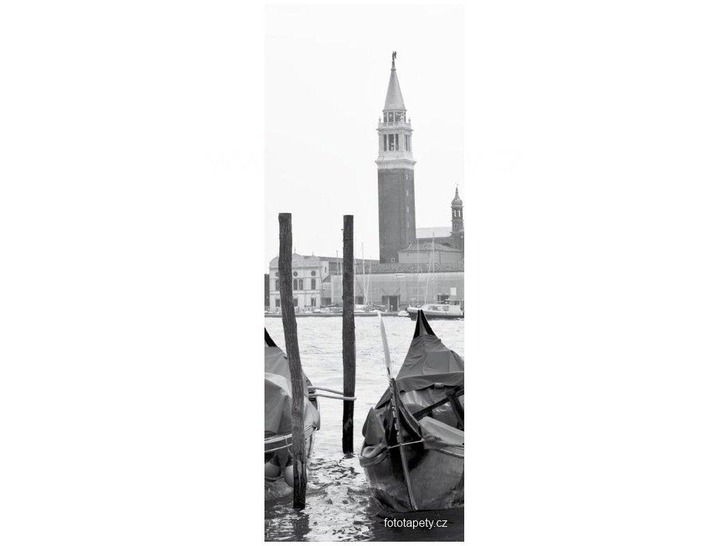 Samolepící velkoplošná nálepka - Benátky, 100x270cm