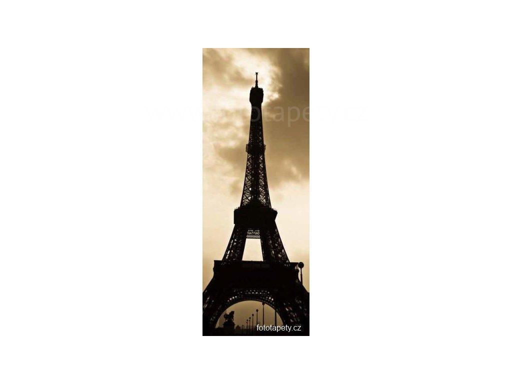 Samolepící velkoplošná nálepka - Paříž, 100x270cm