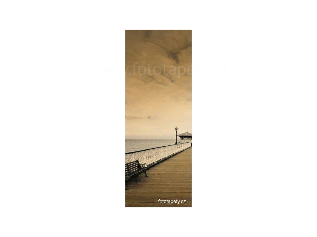 Samolepící velkoplošná nálepka - Romantika, 100x270cm