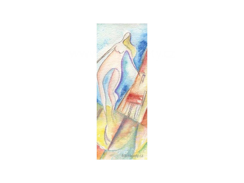 Samolepící velkoplošná nálepka - Romina, 100x270cm